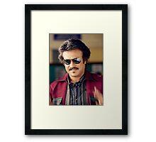 Rajinikanth (Anna)  has won six Tamil Nadu State Film Awards—four Best Actor Awards  Framed Print