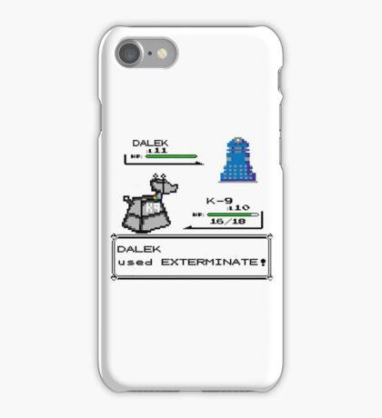 Doctor Who Pokemon Battle iPhone Case/Skin