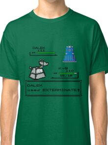 Doctor Who Pokemon Battle Classic T-Shirt