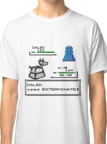Doctor Who Pokemon Battle Classic T-Shirt