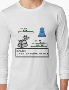 Doctor Who Pokemon Battle Long Sleeve T-Shirt