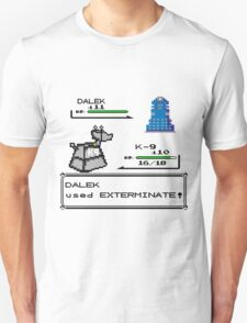 Doctor Who Pokemon Battle Unisex T-Shirt