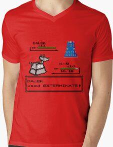 Doctor Who Pokemon Battle Mens V-Neck T-Shirt