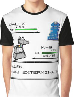 Doctor Who Pokemon Battle Graphic T-Shirt