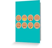 Emoji Building - Pancakes Greeting Card