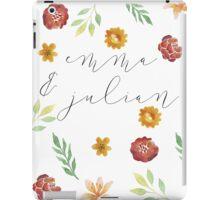 Emma and Julian #2 iPad Case/Skin