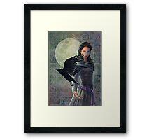 Celtic Raven Framed Print