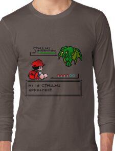 Cthulhu Pokemon Battle Long Sleeve T-Shirt