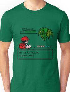 Cthulhu Pokemon Battle Unisex T-Shirt
