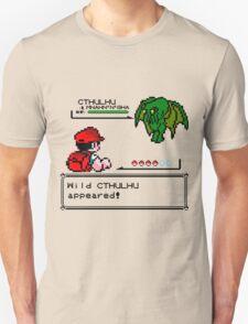 Cthulhu Pokemon Battle T-Shirt