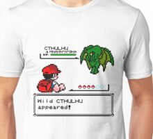 Cthulhu Pokemon Battle Unisex T-Shirt
