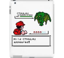 Cthulhu Pokemon Battle iPad Case/Skin
