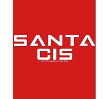 SANTA CIS (White) Photographic Print