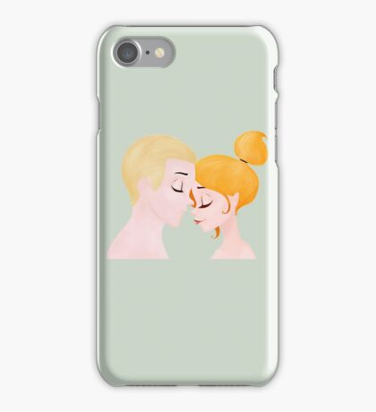 Buffy and Spike - Fanart iPhone Case/Skin