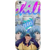 Vaporwave Chill aesthetics iPhone Case/Skin