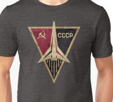 CCCP Rocket Triangular Emblem  Unisex T-Shirt