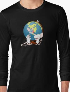 Pinky and the Brain Long Sleeve T-Shirt