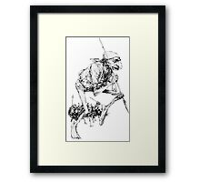 Fantasy Army from Faeries Framed Print