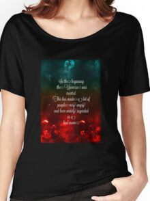Hitchhiker's Guide Quote Women's Relaxed Fit T-Shirt
