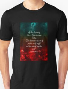 Hitchhiker's Guide Quote Unisex T-Shirt