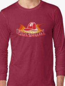 KID'S FIREMAN  Long Sleeve T-Shirt