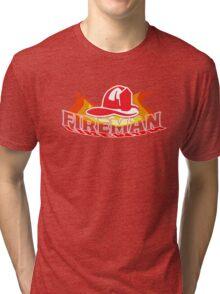 KID'S FIREMAN  Tri-blend T-Shirt