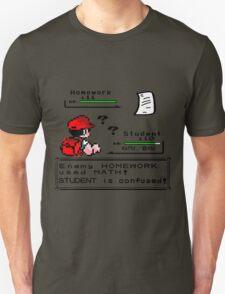 Homework Pokemon Battle Unisex T-Shirt