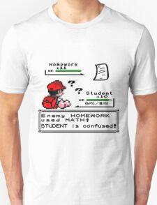 Homework Pokemon Battle T-Shirt