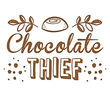 Chocolate thief Photographic Print