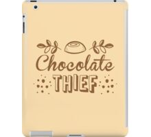 Chocolate thief iPad Case/Skin