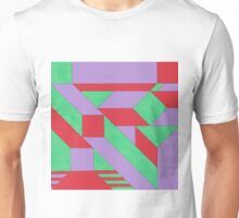 Gestalt Red, Green & Purple Unisex T-Shirt