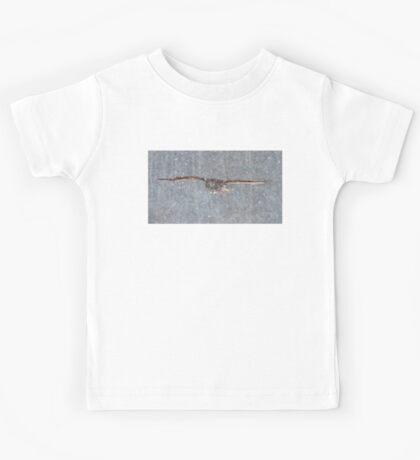 Snowfall - Great Grey Owl Kids Tee
