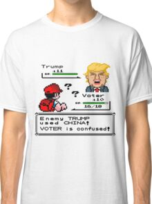 Donald Trump Pokemon Battle Classic T-Shirt