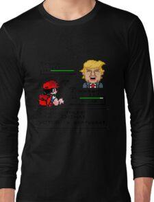 Donald Trump Pokemon Battle Long Sleeve T-Shirt