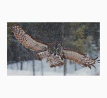 Duck! - Great Grey Owl Kids Tee