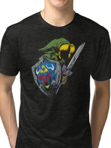 Hyrule Warrior Tri-blend T-Shirt
