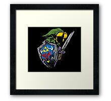 Hyrule Warrior Framed Print