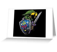 Hyrule Warrior Greeting Card