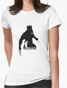 Wolverine - Silhouette Womens Fitted T-Shirt