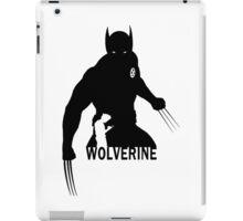 Wolverine - Silhouette iPad Case/Skin