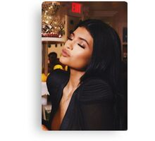 Kylie Jenner Pout Canvas Print