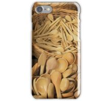 Wooden Spoons iPhone Case/Skin
