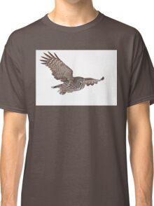 In Flight - Great Grey Owl Classic T-Shirt