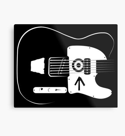 Ed's Custom Guitar! Metal Print