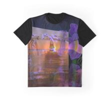 Waves from a flowers breath take no limits to their depth  Graphic T-Shirt