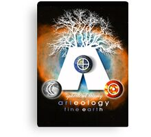 arteology universe 4 Canvas Print
