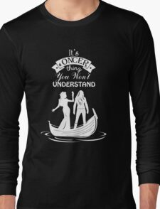 Swan Queen (b/w). Oncer Thing! Long Sleeve T-Shirt