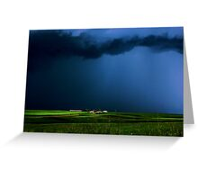 Wild, wild weather Greeting Card
