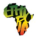 Ethiopia in Africa - Black by SHAOLIN JAZZ
