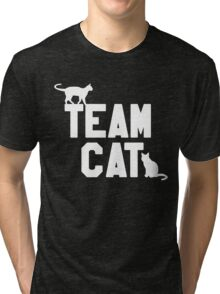 Team Cat Tri-blend T-Shirt